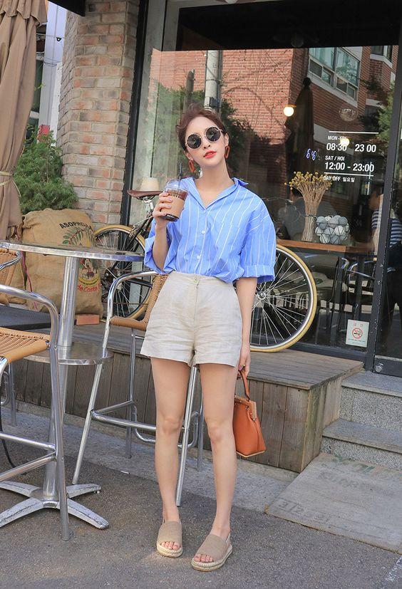 quần short vải 13