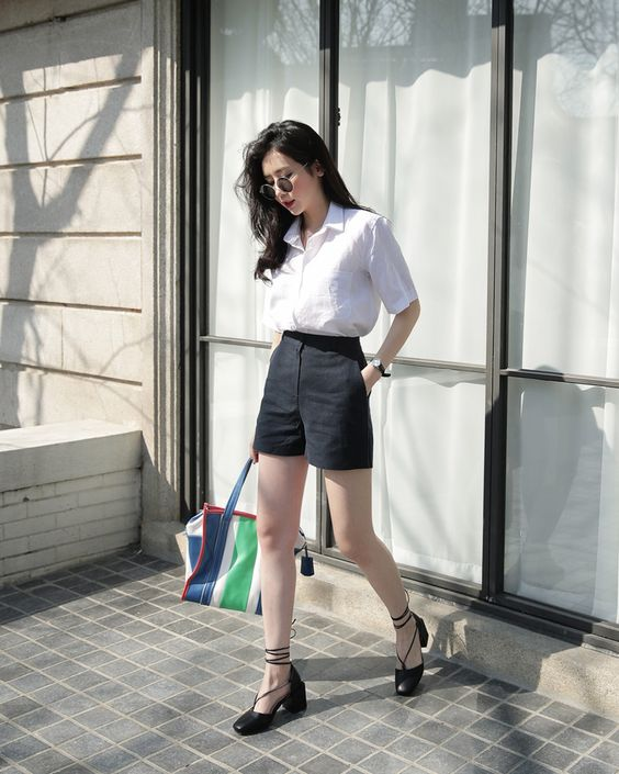 quần short vải 14