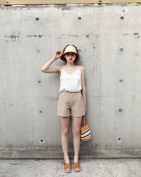 quần short vải 9