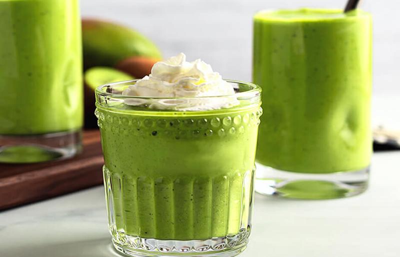 Một cốc sinh tố trà xanh vừa ngon lại vừa giảm cân hiệu quả