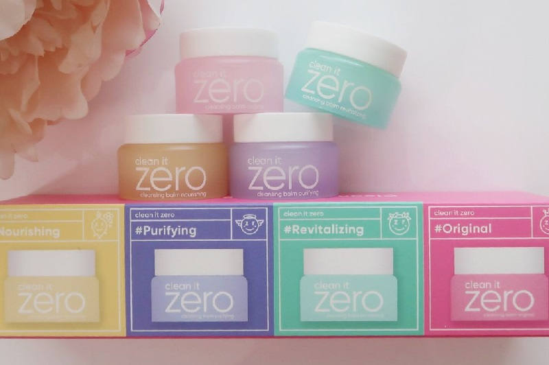 Bao bì của sản phẩm sáp tẩy trang Zero