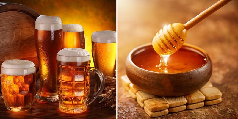 Cách trị mụn bằng bia và mật ong