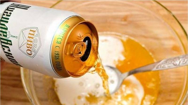 Cách trị mụn bằng bia và sữa chua