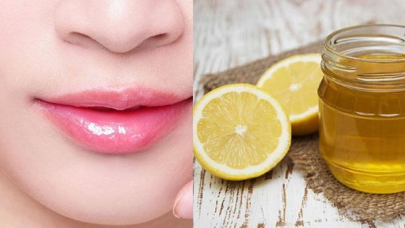 Trị thâm môi bằng vitamin e kết hợp với chanh