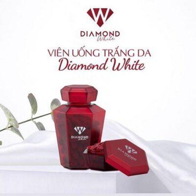 Review viên uống trắng da Diamond White Ngọc Trinh tốt không?